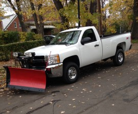 Residential and Commercial Snow Plowing by Premier Outdoor Services in Amherst NY